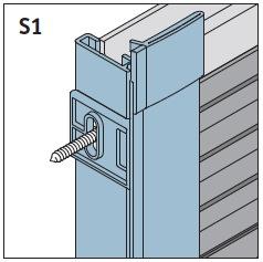 S1 - Seitenführungsschienen