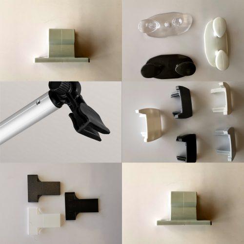 Plissee Kleinteile und Zubehör
