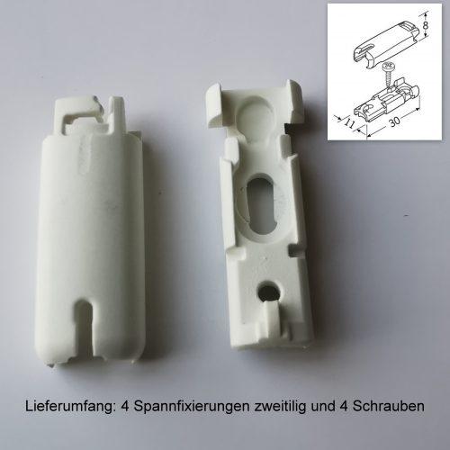 Cosiflor Luxaflex Spannfixierungen